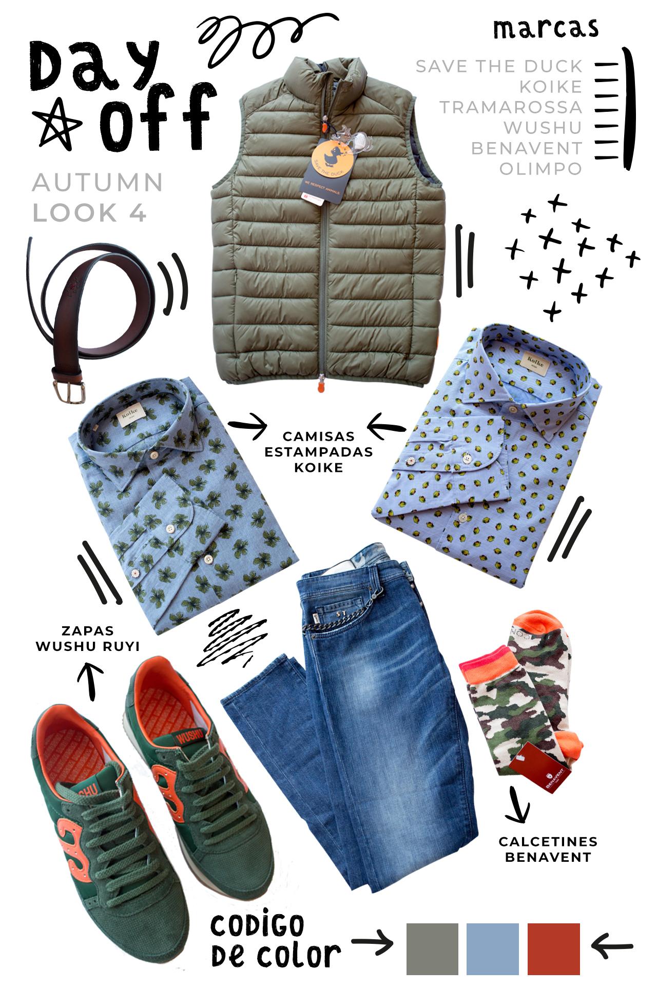 Cuatro looks para el otoño en Benavent Alicante ropa para hombre