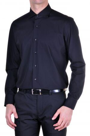 Camisa Azul Marino sin corbata