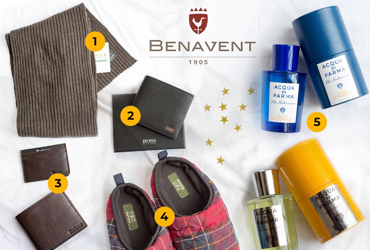 Ideas para regalar estas Navidades - Benavent Moda hombre Alicante